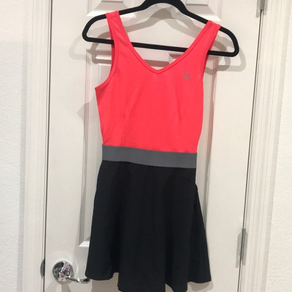 RBX Dresses & Skirts - 5/$25 Black & Coral RBX Casual/Workout Dress-SM